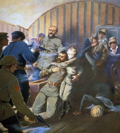 Assassinat de Nicolas II à Iekaterinbourg