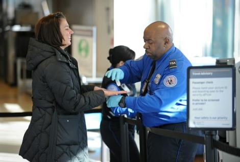A US Transportation Security Administrat