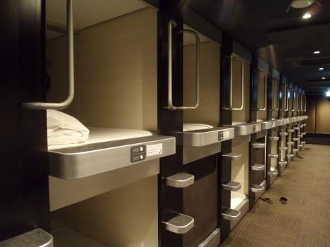 Tipe Kamar di Kapsul Hotel