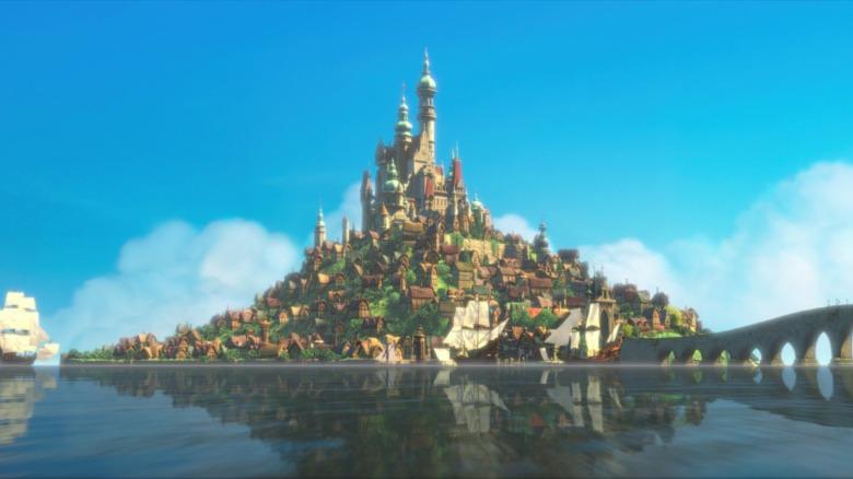 Disney Tangled Castle