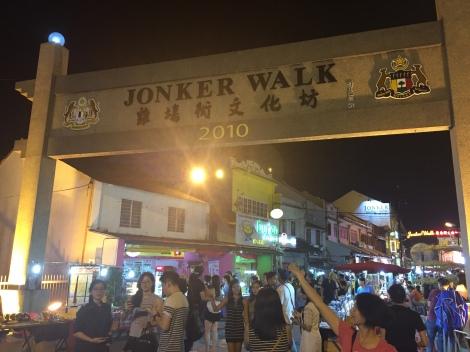 Gerbang Jonker Street atau Jonker Walk
