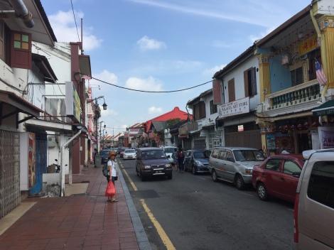 Jonker Street di Siang Hari
