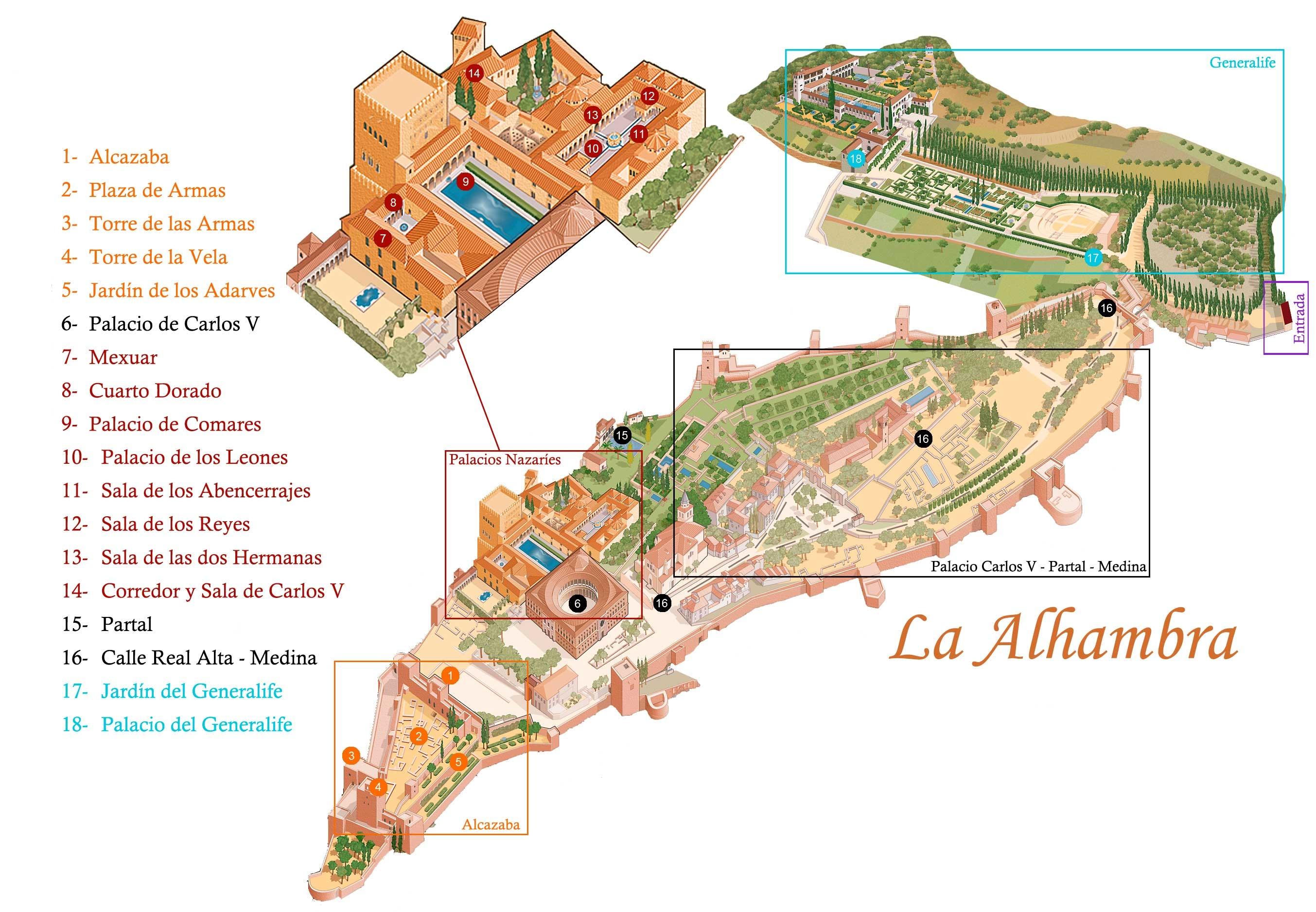 Alhambra-map